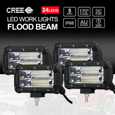 40inch Curved CREE LED Light Bar Two Rows Combo Beam Work Driving 4x4 252000LM