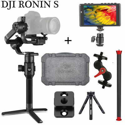 DJI Ronin-S Handheld Gimbal Stabilizer 3.6 KG Payload + 6 Accessories Monitor ZZ