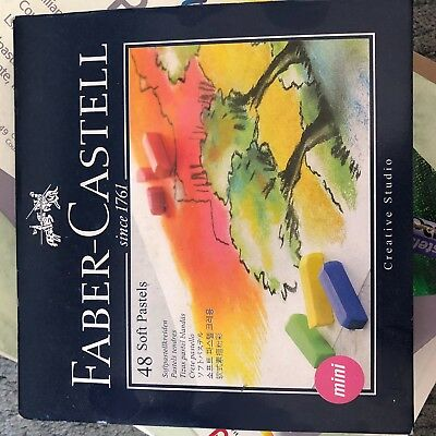 Faber Castell 48 Soft Pastels Brand New Never Used Original Packaging