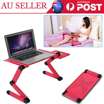 2019 Folding Laptop Desk Adjustable Computer Table Stand Bed Sofa Leisure Table