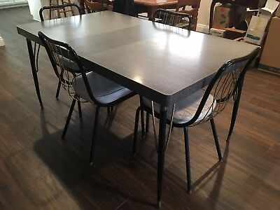 Vintage 1950s Table And Chairs Set