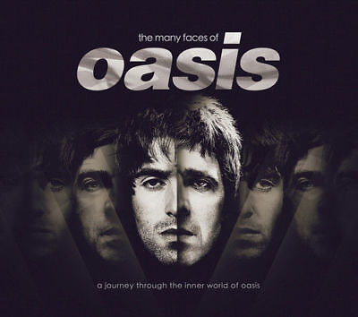 The Many Faces of Oasis CD 2018 ***NEW*** OFFICIAL UK STOCK Gift Idea 3 CD SET