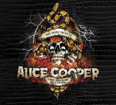 The Many Faces of Alice Cooper CD (2018) ***NEW*** OFFICIAL Gift Idea
