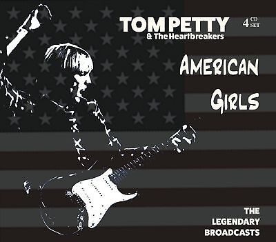 TOM PETTY and THE HEARTBREAKERS AMERICAN GIRLS 4 CD SET GIFT IDEA Live Best of