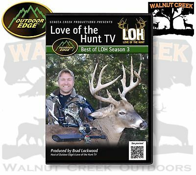 2012 Outdoor Edge Love of the Hunt TV Best of Season 3 - New and Sealed DVD-36