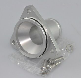 Citroen Saxo VTS Billet Alloy Thermostat Housing Takeoff - TU5J4 (Silver) -SPOOX