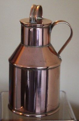 Miniature Copper Milk Can