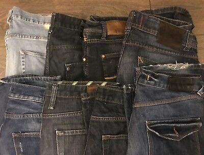 """Men's Trousers Jeans 7 pairs 34"""" and 36"""""""
