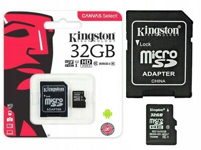 Kingston MicroSD 32GB SDHC  Memory Card Micro sd TF Mobile Phone Class 10