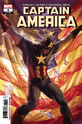 Captain America #4 (Lgy #708) - 1St Print - Bagged & Boarded. Free Uk P+P