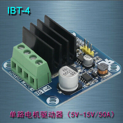 Double IBT-4 50A Motor Driver High-power module/smart car driver For Arduino HQ
