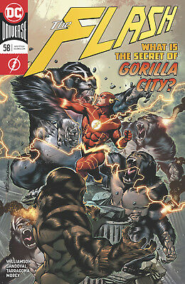 The Flash #58 - Dc Universe - 1St Print - Bagged & Boarded. Free Uk P+P