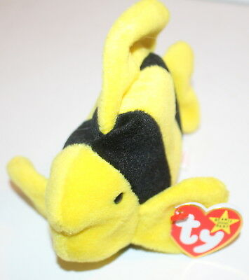 a24642f8864 Bubbles the Tropical Fish Baby Hang Tag 4th Generation Tush TY Beanie Babies