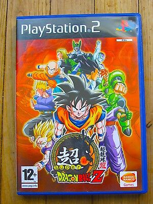 Jeu Ps2 @@ Playstation 2 @@ Sony @@ Super Dragon Ball Z @@  Pal @@ Complet