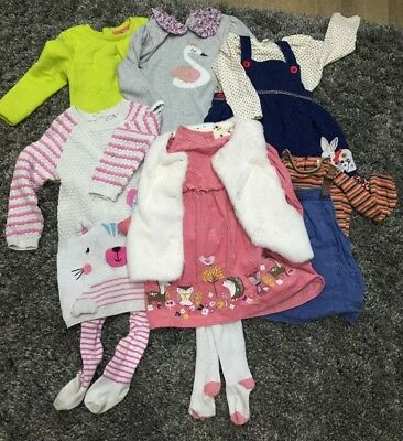 girls 9-12 months outfit Bundle