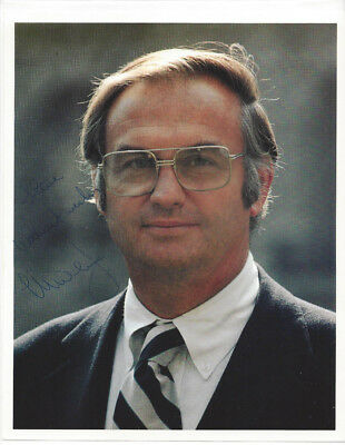 CONNECTICUT Senator LOWELL WEICKER Autographed PHOTO and Signed Letter 1977