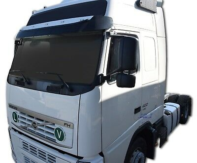 VOLVO FH 2-3 FM 2-3 2003-2013  ADHESIVE WIND DEFLECTORS 2pc TINTED SCOUTT