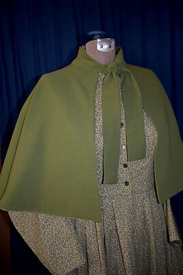 Civil War Victorian Dickens 19th Century Short Cape Reversible