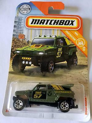 Ridge Raider 2019 Matchbox Power Grabs Case C