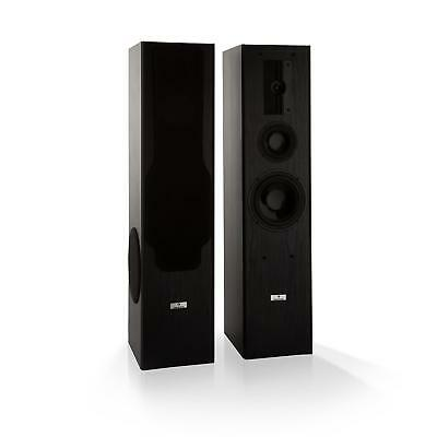 Standlautsprecher 3 Wege HiFi Anlage Boxen Paar Home Cinema Subwoofer Set 700W