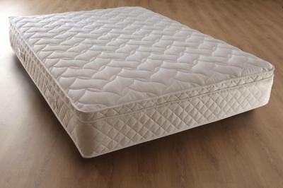 3000 Pocket Sprung Pillow Top Mattress, 3Ft 4Ft6 Double 5Ft King Size
