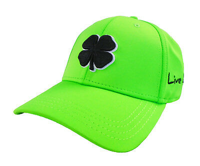 5144475c090b77 NEW BLACK CLOVER Premium Clover #76 Lime Green-Black Fitted L/XL Hat ...