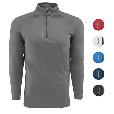 Reebok Men's Play Dry 1/4 Zip Jacket