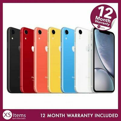 Apple iPhone XR - 64GB 128GB 256GB - Unlocked / EE - Various Colours A2105