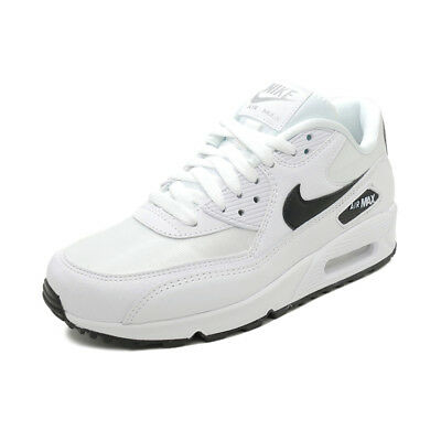 new photos a3a6c fba93 Scarpe sportive donna NIKE Air Max 90 tela bianco e nero 325213-137