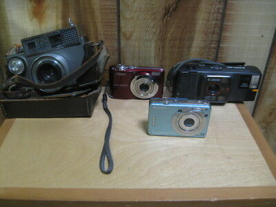 Lot of 4 Camera's Not Working, Parts only
