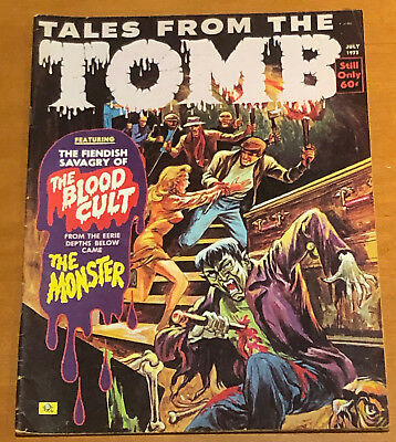 1973 TALES FROM THE TOMB COMIC MAGAZINE Vol 5 #4 JULY 1973 Shark HORROR MONSTERS