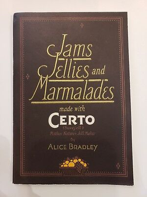 Antique Certo Surejell Canning Booklet Jams Jellies Marmalades Cookbook, 1924