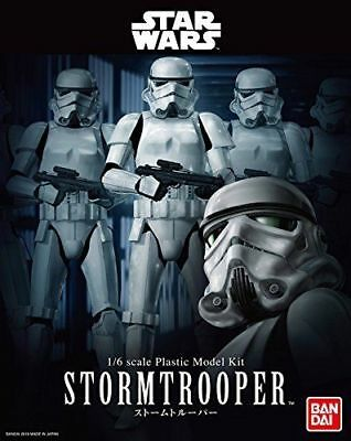 BAN210505: Bandai Star Wars Storm Trooper 1/6 scale plastic model kit