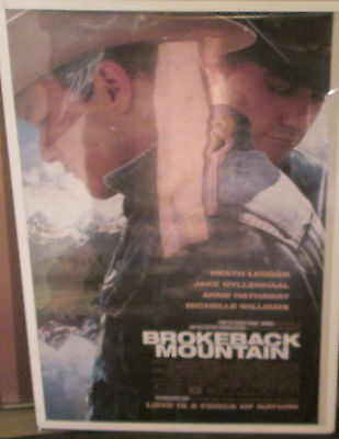 Brokeback Mountain Poster New Vintage Rare Early 2000's Movie