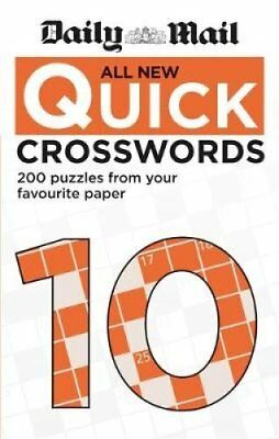 Daily Mail All New Quick Crosswords 10 by Daily Mail 9780600635666