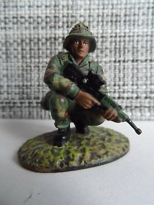 Gurkha British Army metal figure