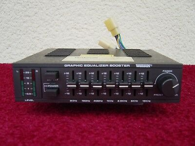 "WATSON Graphic Equalizer Booster ""AR 8660""  Old- Youngtimer ( EQ 03 )"