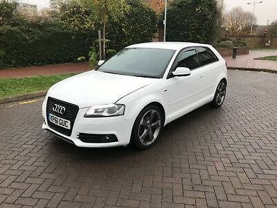 2011 Audi A3 1.8 Tfsi S Line Black Edition! White 3 Door! Only **63000** Miles!