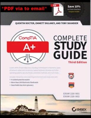Comptia A+ Complete Study Guide Exams 220-901 and 220-902