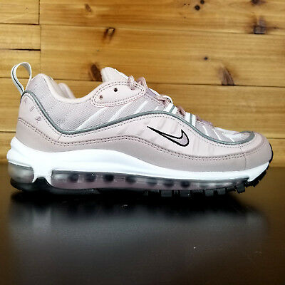 promo code 39867 b1287 NIKE AIR MAX 98 Women's Shoes ROSE PINK LIGHT RED WHITE OFF AH6799-600