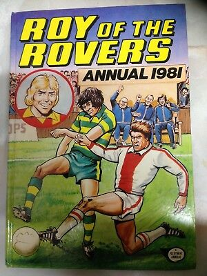 ROY Of The ROVERS 1981 Annual. Good Condition For Age **Free UK Postage**