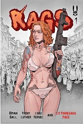 RAGS #1 NM Pre-Antarctic Press, Self-Published Version! Hot book, awesome story!