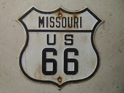 Route 66 HWY sign