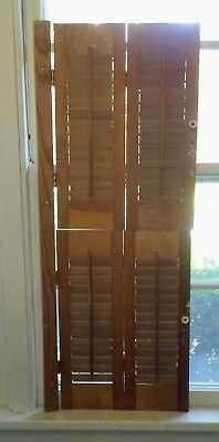 20 Pair Vintage Cafe style Wooden Shutters
