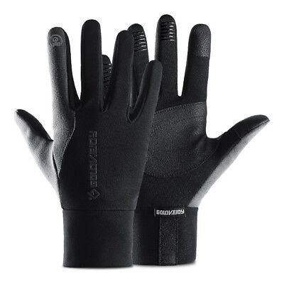 Men Women Reflective Sport Gloves Thermal Walking Sports Running Screen