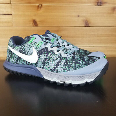 4d6fab6888db3 Nike Air Zoom Terra Kiger 4 Trail Running Shoe US Mens Forest Camo  880563-400