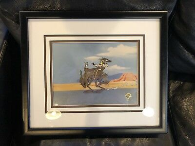 Warner Bros Wile Coyote Sericel With Certificate