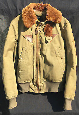 Original WW2 US Army Air Forces B15-A Flight Jacket Insulated Bomber Coat
