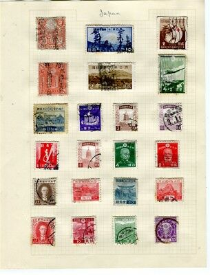 JAPAN; Early issues small mint/used LOT, 19th Century to early 1900s