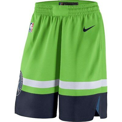 a3d2296ef2d Minnesota Timberwolves Nike 2018/19 Statement Edition Swingman Shorts -  Green